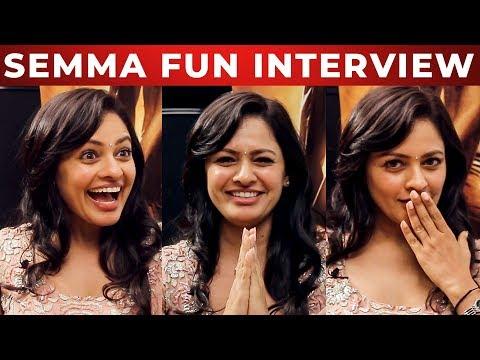 Pooja Kumar's Love stories in USA?   Fun Interview   Vishwaroopam 2   Kamal Haasan   NPA 02