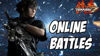 Tekken 7 Noctis Gameplay - PS4 Online matches