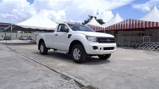 2013 Ford Ranger 2.2 4X4 XL (High Rider, Single Cab) Start-Up and Full Vehicle Tour