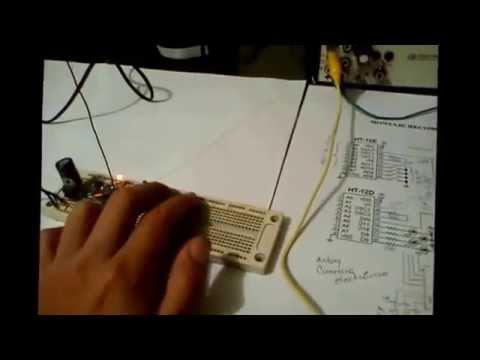 modulos de Radio frecuencia con PIC.HT12E y HT12D