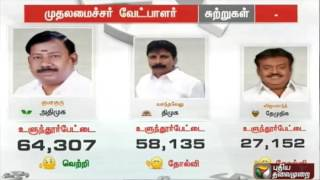 TN Elections Results 2016: Chief Ministerial Candidates Results