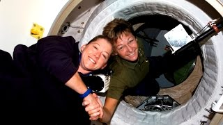 Two Historic Female Space Commanders