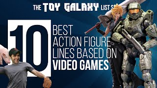 10 Best Action Figure Lines Based on Video Games | List Show #11