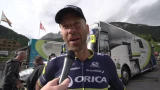 2017 Giro d'Italia - Stage 17 Post Race