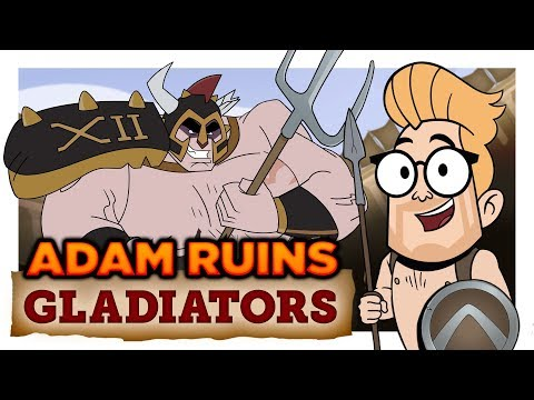 Xxx Mp4 The Truth About Ancient Gladiators Adam Ruins Everything 3gp Sex