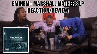 EMINEM - MARSHALL MATHERS LP (FULL ALBUM) REACTION/REVIEW