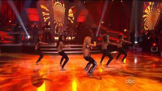 Shakira - Loca [HD 720p] - Dancing With The Stars [10.19.10]