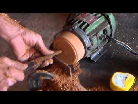 como fazer polia de madeira p motor