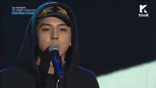 [HD] 160217 겁 (Fear) - MINO feat. Seungyoon (WINNER) @ Gaon Charts K-pop Awards