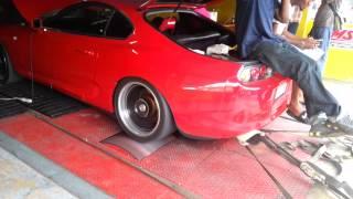 1100 hp Supra Jamaican dyno
