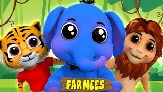 Eeny Meeny Miny Moe   Songs For Children   Kids Rhymes In English by Farmees