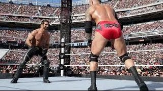 Randy Orton vs Seth Rollins Wrestlemania 31 Full Match