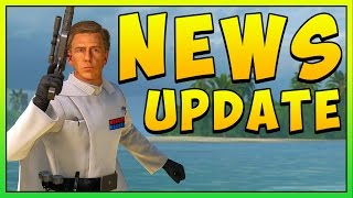 Star Wars Battlefront Use the Bo Rifle! Rogue One Patch News Update!