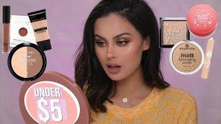 Full Face Of Drugstore Makeup Under $5
