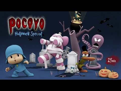 Pocoyo Halloween Spooky Movies for Kids 25 minutes of fun