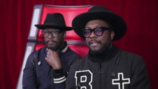 Will.i.am meets his Madame Tussauds wax figure
