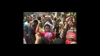 সোহাগী জাহান তনুর খুনিদের বিচার দাবিতে সারাদিনই উত্তাল ছিল কুমিল্লার রাজপথ