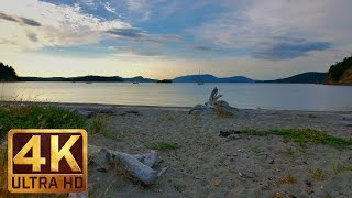 Lopez Island, 4K (UHD) Relaxation Video Nature Sounds - Stress Relief Video (3 hours)