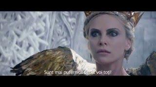 Razboinicul Vanator si Craiasa Zapezii trailer 2 subtitrat in romana