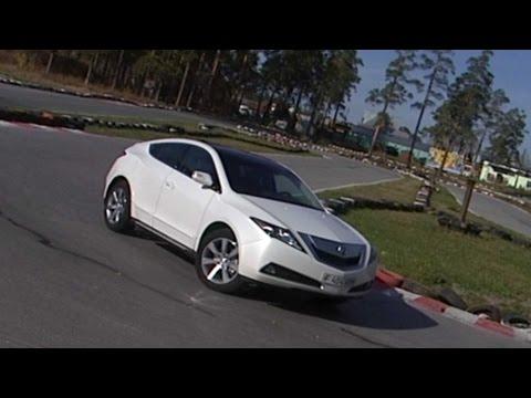 Тест-драйв Акура ЗетДеИкс Acura ZDX   Программа об автомобилях БЕЛАЯ ПОЛОСА