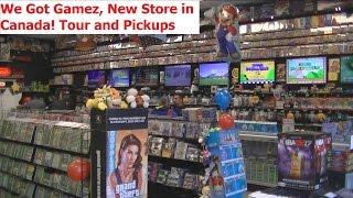 We Got Gamez - NEW Store in Canada (Plus Pickups) - Adam Koralik