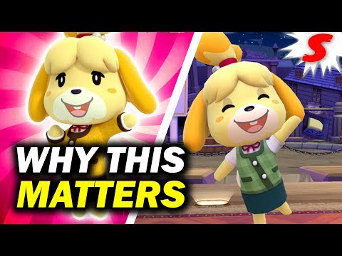 The REAL Significance of Isabelle s Inclusion Super Smash Bros Ultimate