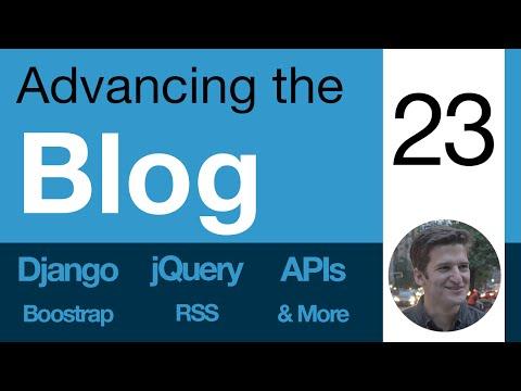Advancing the Blog - 23 - Basic User Login, Registration, Logout
