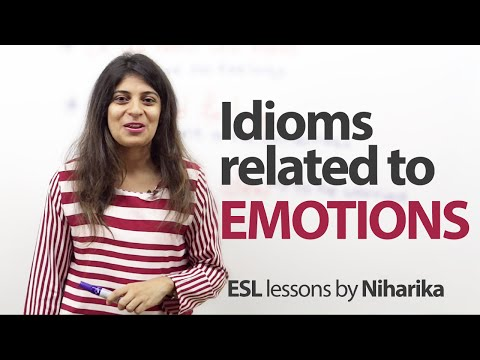 watch Idioms related to Emotions - Free English Lesson