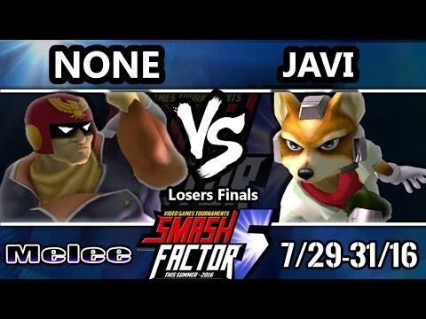 watch SF5 SSBM - EMG   n0ne (Captain Falcon) Vs. RG   Javi (Fox) Smash Melee Losers Finals