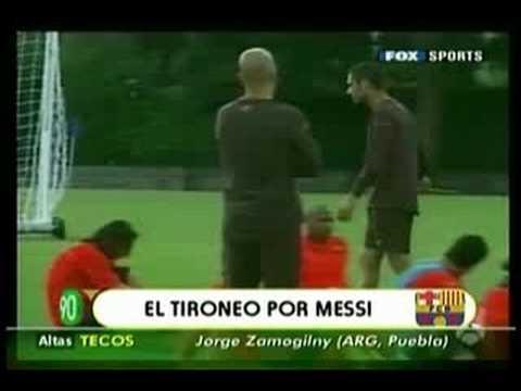 Messi se Pelea con Márquez