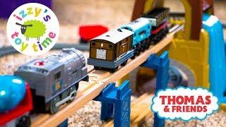 Thomas Train and Imaginarium Power Rails Hybrid Track! Thomas and Friends   Fun Toy Trains for Kids