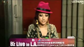 JASMINE & B'z Live in L.A. 2011