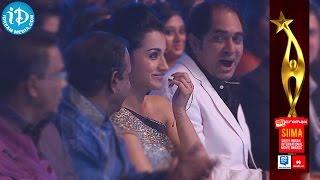 SIIMA 2014 Tamil - Rana Daggubati and Shiva Funny Comedy on Trisha