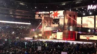 Wrestlemania 29 - CM Punk Entrance - WWE