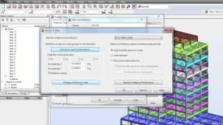 Seismic Analysis in autodesk robot