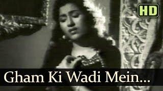 Gham Ki Wadi Mein Khushi Ka Caravan (HD) - Saqi Songs - Prem Nath - Madhubala - Lata Mangeshkar