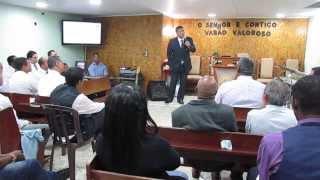 Adecin Ebenézer - Conf. Varões 2013 - Pr. Manoel Ribeiro - Rebelião.