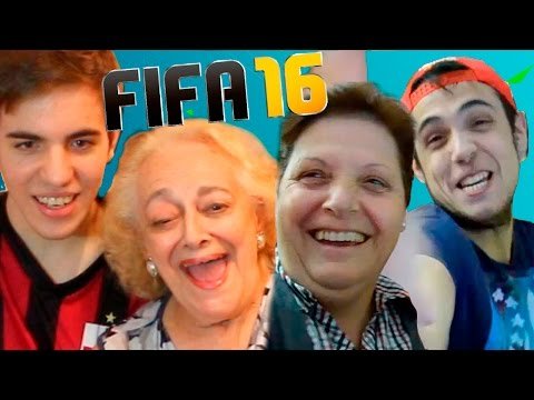 MI ABUELA JUEGA VS TU MADRE - FIFA 16