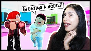 MY BOYFRIEND IS A MODEL BUT HES SO EMARASSING! - Roblox - Famous Fashion