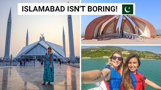 ISLAMABAD THINGS TO DO FOR TOURISTS & LOCALS! | Pakistan Vlog 5