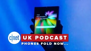 Foldable phones, the iPad Pro and Michael Chabon (CNET UK Podcast 547)