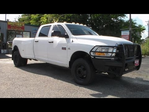 2011 (Dodge) Ram 3500 Dually SLT Cummins Review