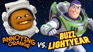 Annoying Orange vs Buzz Lightyear!