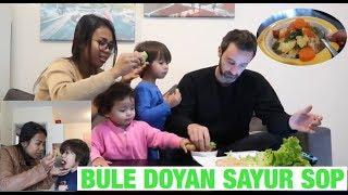 VLOG || MAKAN BARENG SUAMI || ANAK BULE MAKAN SAYUR SOP ~|| SELAMAT TAUN BARU