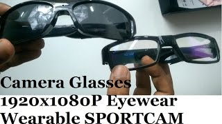 Glasses Hidden Camera 1920x1080p Wearable DVR Video Camcorder 2016 new