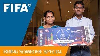 FIFA Bring Someone Special – Adityanshu's Story