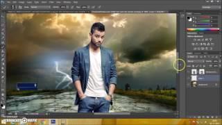 Photoshop CS6 Manipulation Photo Effects Tutorial  Change Background and blending