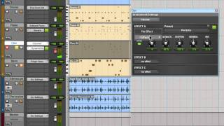 Pro Tools® SE - Adding Effects to your track - Win 7 & Mac OS X