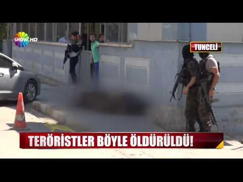 Teröristlerin Öldürülme Anı (HD YAYIN)