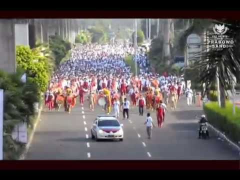 Xxx Mp4 MARI BUNG REBUT KEMBALI Jalan Sehat Bersama PRABOWO 3gp Sex
